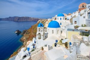 Santorini Cyclades Greek Island