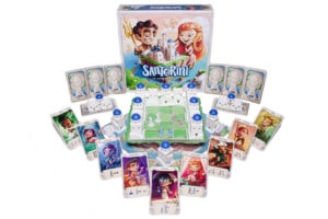 Santorini Greece Board Game