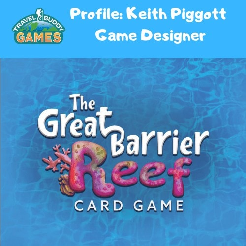 Travel Card Game Designer Keith Piggott