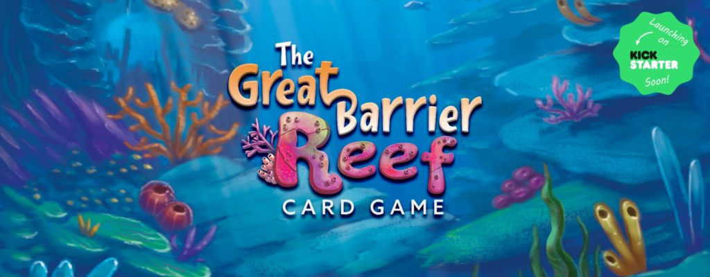 Great Barrier Reef Kickstarter Landing Page